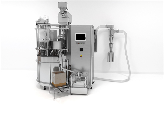 Dust Collection from Capsule Filling Machine