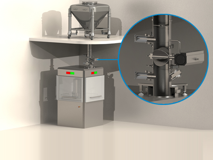 Powder Flow Control System
